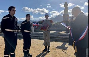 Deux jeunes sapeurs-pompiers volontaires honorés  à Lisula