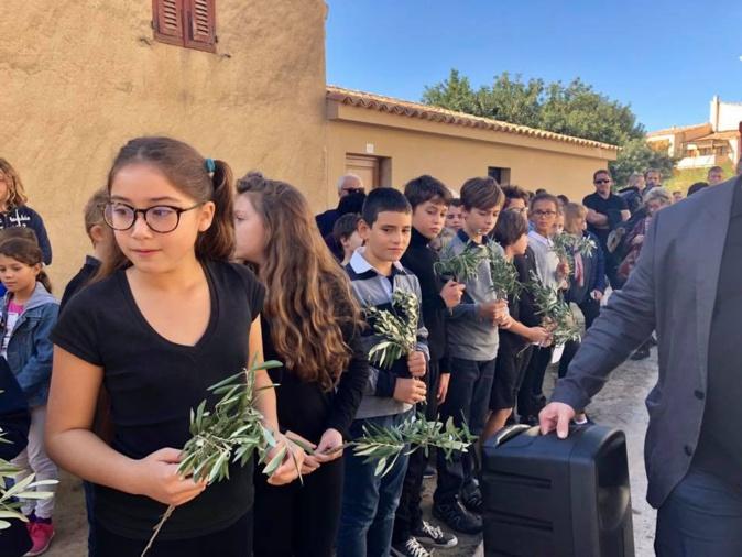 Les écoliers de Lumiu se mettent en scène pour le Centenaire de l'Armistice