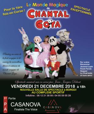 Chantal Goya le 21 Décembre à Borgu : Gagnez 5 places avec CNI