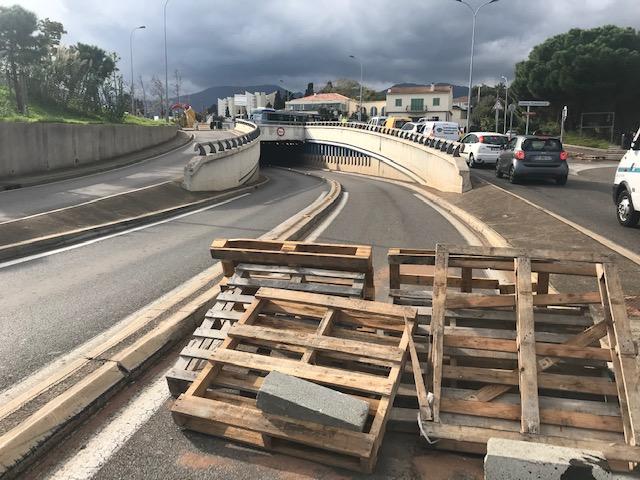 Gilets jaunes en Haute-Corse : Les manifestants toujours mobilisés