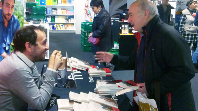 Ajaccio :  Jérôme Ferrari signait son livre « À son image » à la Fnac