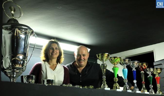 Marie-Paule Mondoloni-Tomasi et Léo Battesti (Photo Michel Luccioni)