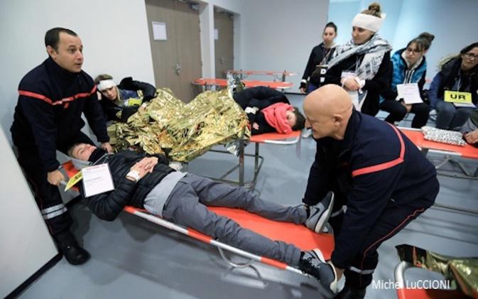 L'exercice d'alerte Orsec Novi testé à Ajaccio