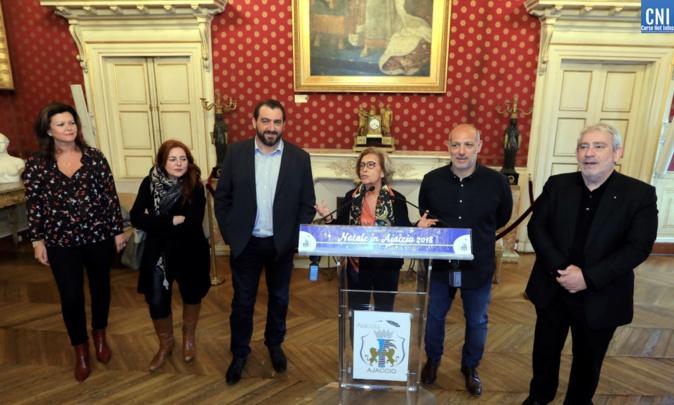 Le programme des festivités a été présenté par Simone Guerrini, adjointe au maire d'Ajaccio, déléguée à la Culture (Photos Michel Luccioni)