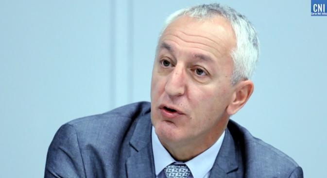 Le procureur de la République d'Ajaccio Eric Bouilllard