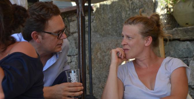Gabriel LeBomin et Claire Burger à Lama en 2017