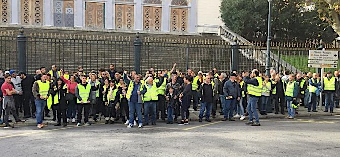Bastia : Plusieurs centaines de gilets jaunes dans la rue