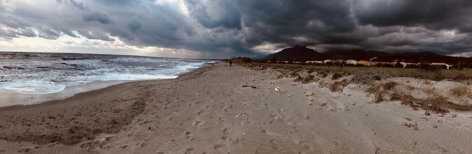 La photo du jour : De la mer au San Petrone