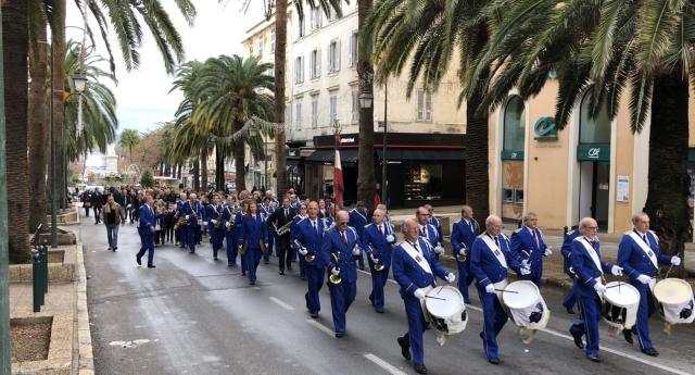 Ajaccio : Une Sainte Cécile dignement célébrée