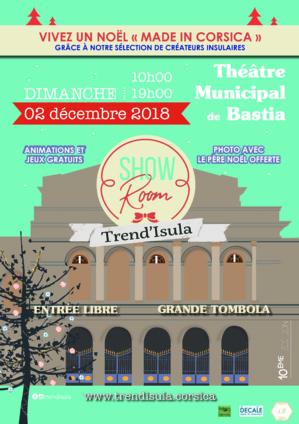 Le « Showroom de Noël » de Trend'Isula s'installe au Théâtre de Bastia