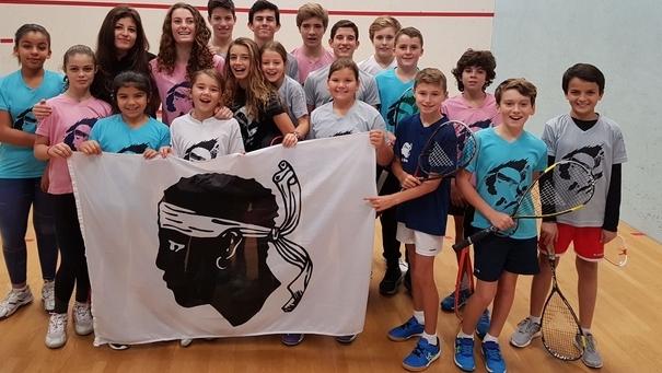 Squash :  Melissa Mebarek (l'Ile-Rousse) gagne l'Open jeunes de Chartres
