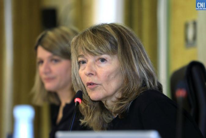 Bianca Fazi présidente du conseil de la citoyenneté / Photos Michel Luccioni