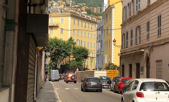 Bastia : Le boulevard Gaudin fermé à la circulation