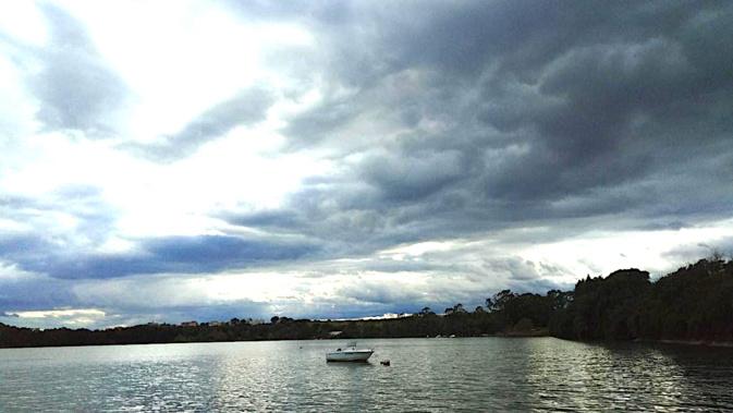 La photo du jour : Heures de Novembre à l'étang de Diana