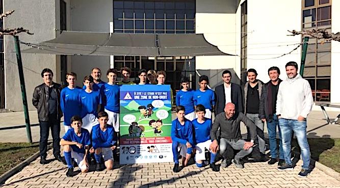 Corse : Un panneau pour défendre les valeurs du football