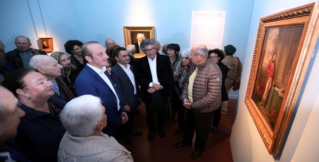 "Inauguration de l'exposition ""De Creuze à Cannicioni"""