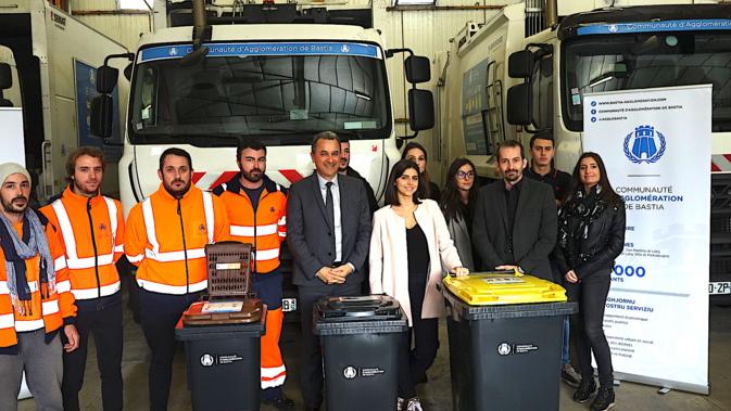 """Bastia : Lancement de la collecte des déchets """"en porte-à-porte"""" au Nord de la CAB"""