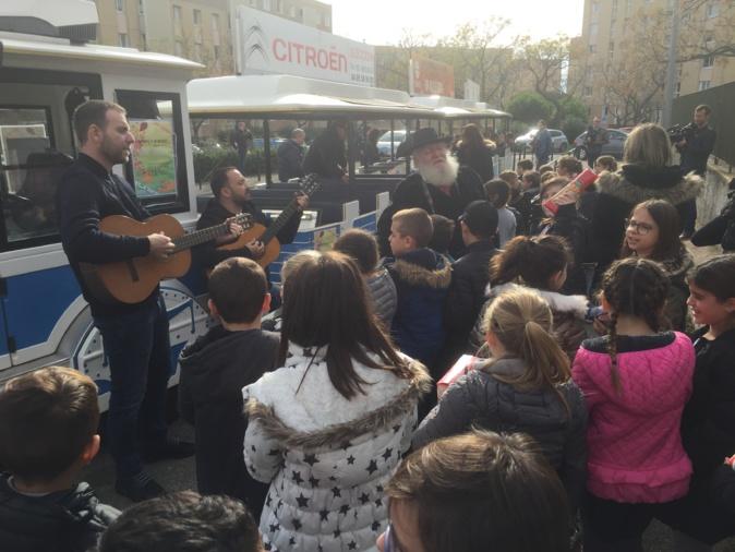 Sant'Andria à Bastia : Le petit train du partage …