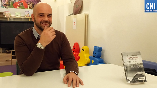 "Antoine Albertini : ""Les invisibles"" chez JCLattès"