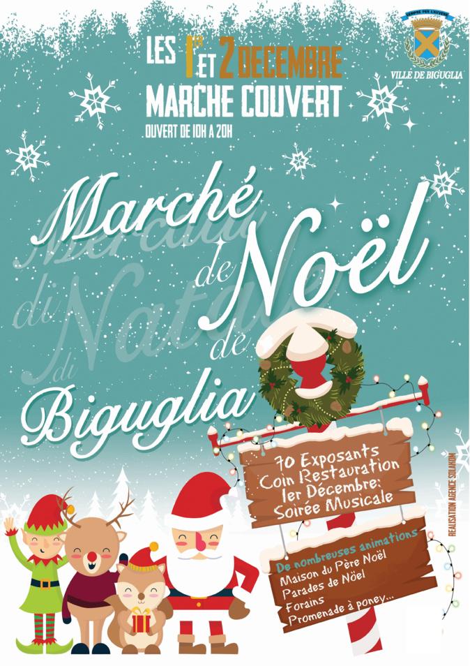 Biguglia : La magie de Noël au marché couvert jusqu'à dimanche soir