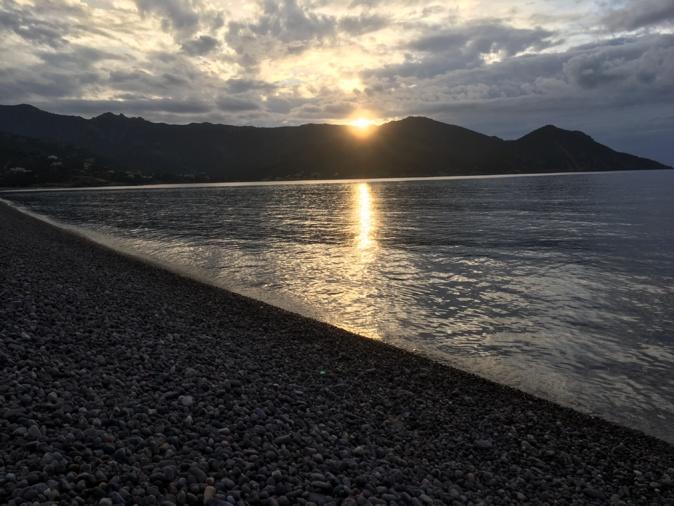 La photo du jour : Coucher de soleil sur le delta du Fango à Galeria