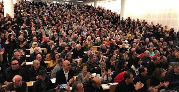 Plus de 1200 militants à Corti pour la création de Femu a Corsica.