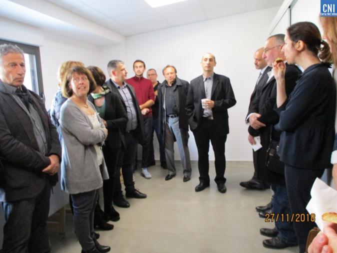 Inauguration des nouveaux locaux au CMP de Porto-Vecchio