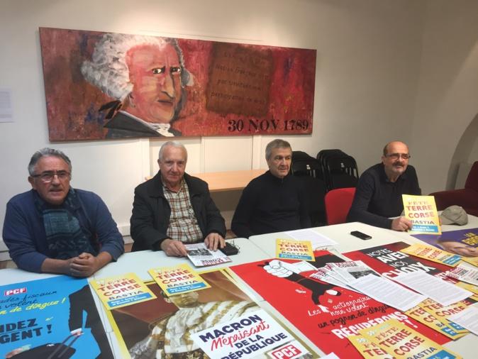 """Le PCF de Corse a présenté la 59ème édition de la """"Fête de Terre Corse"""" qui aura lieu ce week-end à Bastia"""