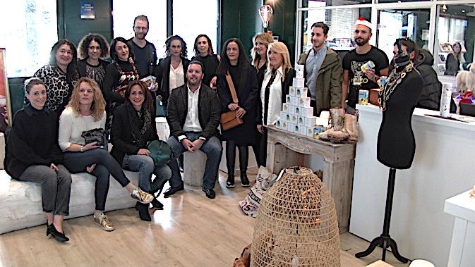 """Organisateurs et créateurs du """"Little Corner by Creazione"""" déjà à pied d'oeuvre avant le show de ce week-end"""