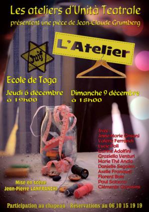 """Théâtre : """"L'Atelier"""" à l'école de Toga"""
