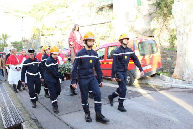 Le SIS de Haute-Corse a célébré Sainte-Barbe à Santa Maria di Lota