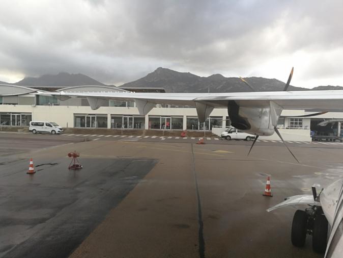 Tous les vols annulés dimanche à l'aéroport de Calvi