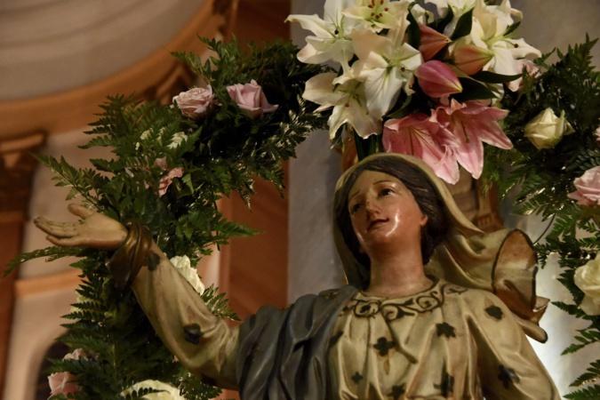 Festa di a Nazione in Lisula, a Vergine Maria glurificata