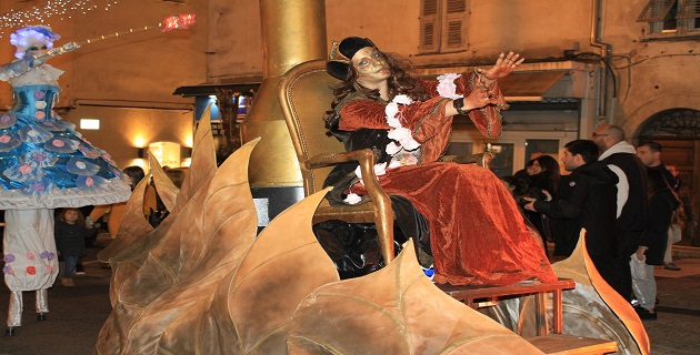 La parade impériale/Photo Marilyne Santi