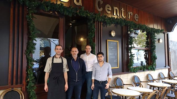 LoÎc Barles et l'équipe du Café du Centre : la qualité avant toute chose