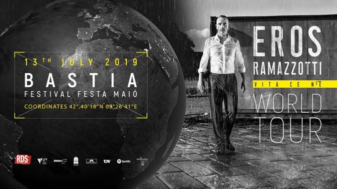 Eros Ramazzotti en concert à Bastia pour sa tournée mondiale