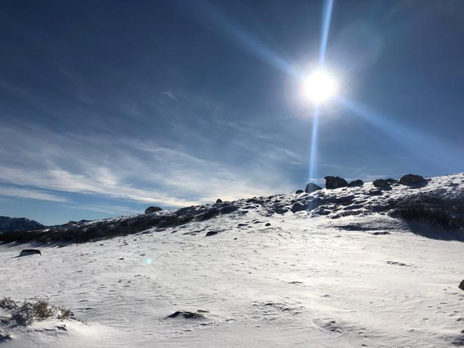 La photo du jour : La crête de Scaldasole à Ese