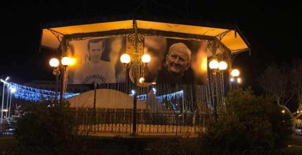 Le kiosque de la Place Saint Nicolas à Bastia.