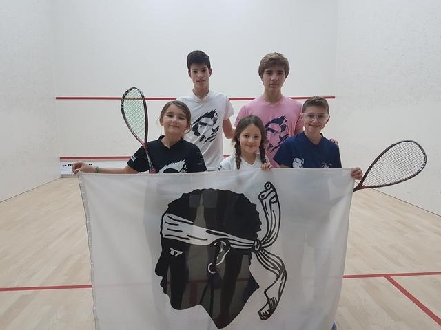 """Résultats mitigés des Corses aux """"Championnats France jeunes de squash"""" de Nantes"""