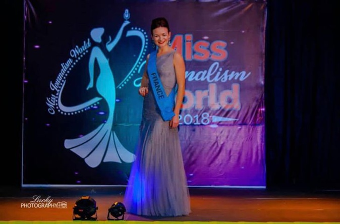Miss Journalism World : la Corse Pauline Murati dans le Top 5