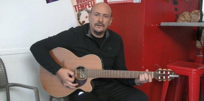 Robert Chantereau entre rock, pop, folk in lingua nustrale... au Ci SImu de Bastia