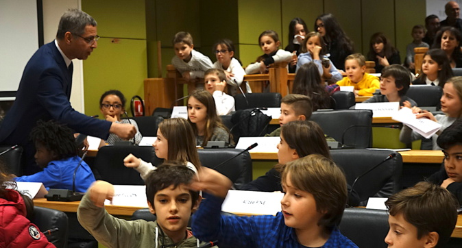 Bastia : U primu cunsigliu municipale di i zitelli