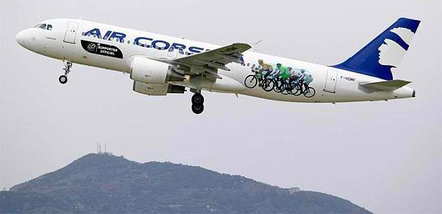 Aérien : Air Corsica dans le Top 5 de meilleures compagnies françaises