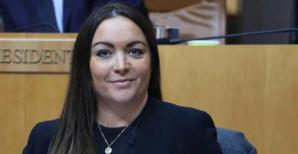 Vanina Borromei, conseillère exécutive et présidente de l'Office des transports de la Corse. Photo Michel Luccioni.