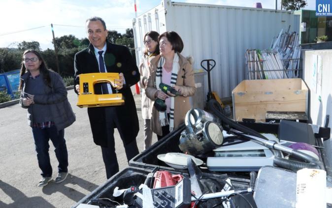 La Corse la première région nationale pour la collecte des déchets « D3E » (Photos Michel Luccioni)
