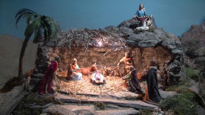 Bastia : Les belles crèches de Noël