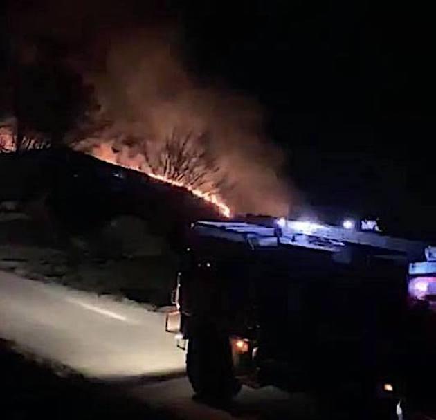 Le feu de Zicavo a détruit 1 hectare d'herbes