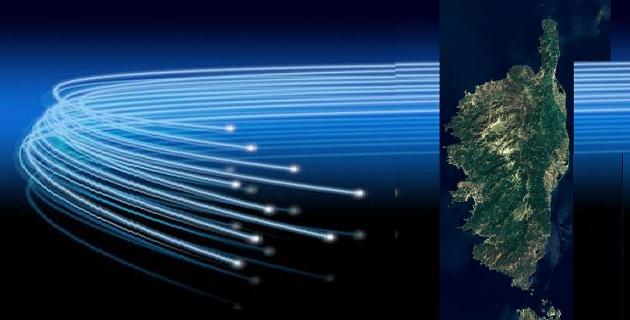 La Corse parmi les 17 régions pour le développement du très haut-débit