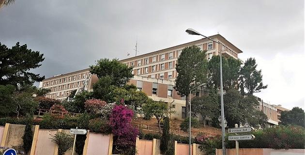 L'hôpital de la Miséricorde à Ajaccio