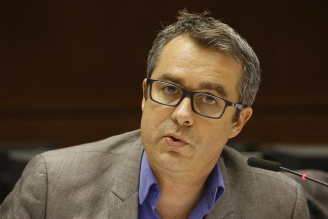 Guillaume Cros, Vice-président de la Région Occitanie, membre (PSE, Parti socialiste européen) du Comité européen des régions (COR) et rapporteur d'un avis sur le futur de la Politique agricole commune (PAC) post-2020.